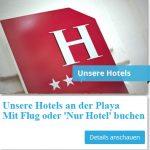 Unsere Hotels an der Playa - mit Flug oder nur Hotel buchen